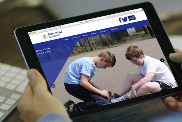 Shawwood Academy: Website