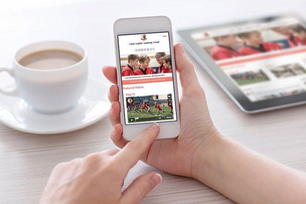 Dubai English Speaking School: Website, Video, Online Office